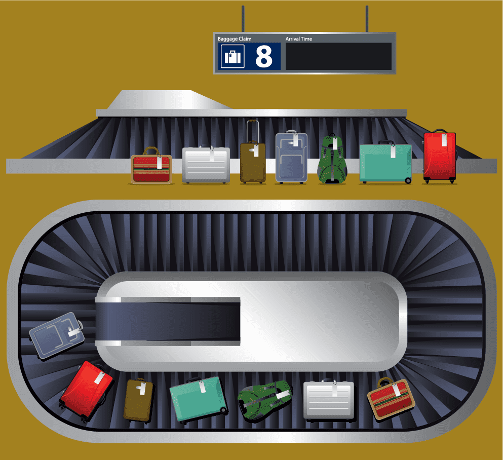 Airport Baggage Belt