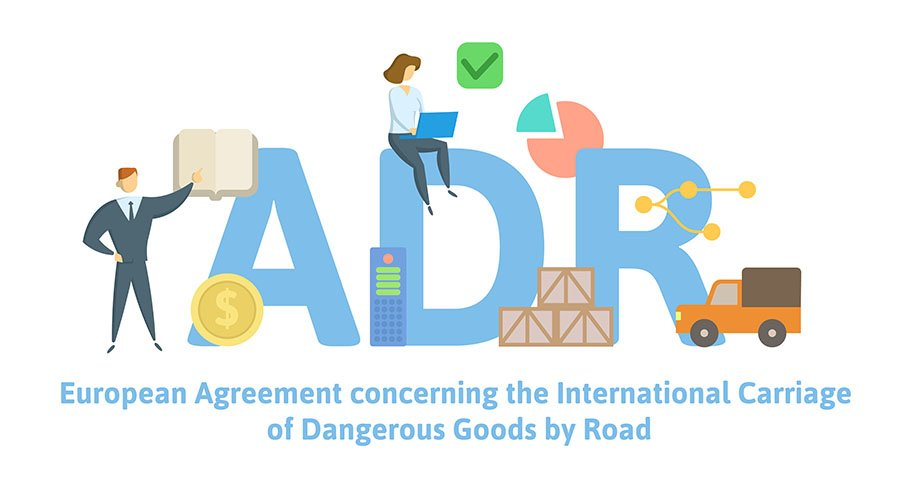 adr dangerous goods by road europe