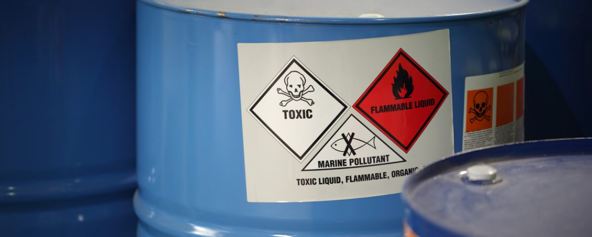 Toxic Substances Warning Sign