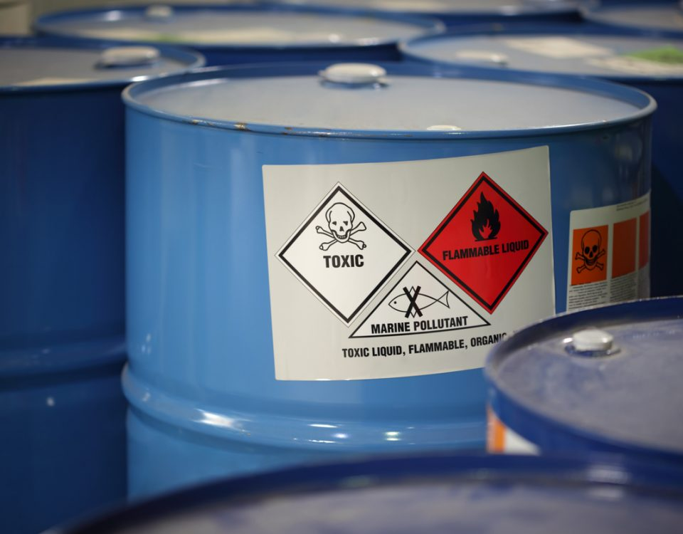 Toxic Substances Warning Sign